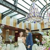 着席 10名~ 90名までの結婚式が叶う。