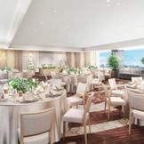 2020年1月リニューアルが決定した、ホテル最上階の人気パーティー会場【Sky Hall GINGA】