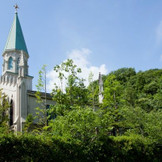 丘の上に佇むシンボル【聖ヨハネ仙台ゆりが丘教会】