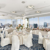 東京の絶景が一望できるホテル最上階「スカイバンケット」