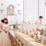 エレガントな「アネックス」は英国紳士が愛するプリンセスのために贈った大邸宅がテーマに。セレブリティにふさわしい、クラシカルなパーティがここなら、完全貸切で叶えられる。