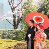 人気の日本庭園☆