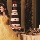 美女と野獣がテーマの新コーディネートプラン「薔薇の舞踏会」のコーディネート♪ホテルならではの高級感が出せる★ 憧れの披露宴を…♪