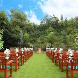 """緑に囲まれての """"ガーデンウェディング""""  森の結婚式場だからこそ叶う""""最高の1日"""""""