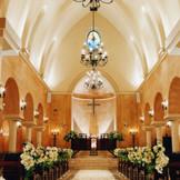 ヴィラ・デ・マリアージュ宇都宮の独立型チャペル「セント・グレイス教会」