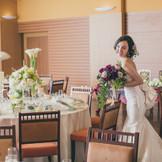 アットホームなバンケット テラスルーム 緊張しながらも花嫁も自然と笑顔になれるあったか空間 着席2名~100名 立食10名~200名