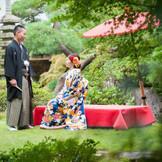 手入れの行き届いた日本ならではの庭園は人気の撮影スポット