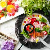 ゲストのことを考えながら決める おふたりと考えていくコース料理!