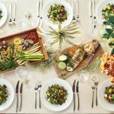 「世界料理オリンピック」銀メダルを受賞したシェフ考案の和洋折衷メニューでおもてなし