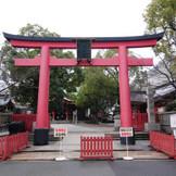 神前式は徒歩1分の御霊神社で