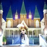 夜のライトアップされたお城でお2人だけの思い出のお写真を☆