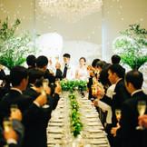 1日貸切の結婚式が叶うからこそ、ゲストの事を考えたおもてなしが出来る!