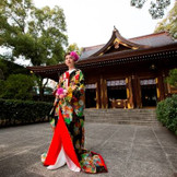 凛とした日本の結婚式
