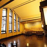 挙式会場やフォトスポットとして使える「ホール」