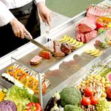 ガーデンキッチンでのお料理のおもてなしは、ゲストのみなさまも大喜び!!!