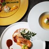 【和仏料理】目でも楽しめる華やかなお料理