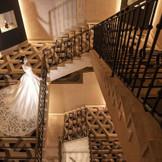 館内の大階段は圧巻!
