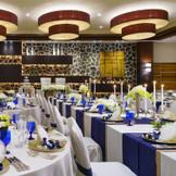 本館2階 弥生の間(南) 50名~80名様までご利用いただけるアットホームな会場 天井も高くなく、レストランをイメージさせる会場です コーディネート次第でカワイイ会場にもおススメです