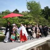 提携神社への手厚いサポート 石浦神社からの花嫁道中