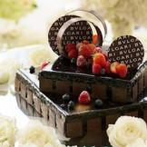 BVLGARIウェディングケーキ