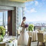 最上階のパーティ会場は洗練空間とゲストも喜ぶ眺望