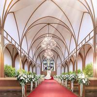 桜島にいちばん近い大聖堂で感動ウエディング