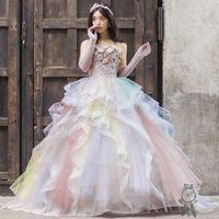 b.b.duoのカラードレス入荷♪エアリーでかわいい一着!