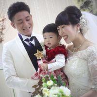 ご家族が増えてからの結婚式。 より心温まる一日に・・・★