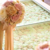 ピンクのバラは「感謝」白のバラは「生涯を誓う」の花言葉