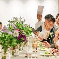 「クリスタル」では、和気あいあいとした少人数での食事会が人気
