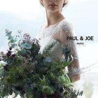 パリ発!人気のファッション&ライフスタイルブランドの【PAUL & JOE】可憐で可愛らしい雰囲気の袖付きドレス