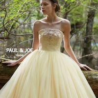 パリ発!人気のファッション&ライフスタイルブランドの【PAUL & JOE】爽やかなイエローのカラードレス