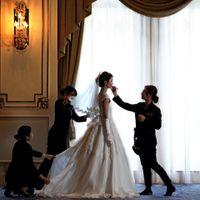 """""""最幸の日""""をむかえる花嫁さまのために、スタッフ一同心をこめて努めます"""