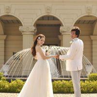 エントランスにある多いな噴水は、参列してくれた小さなお子様に大人気のスポットです♪結婚式が始まるまでの待ち時間も退屈せずに待てるため、親御様たちも落ち着いて結婚式を楽しめます♪