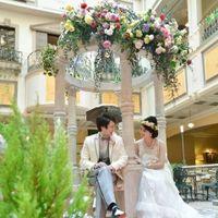 ポインセチアであふれる「ウインターガーデン」、一年で最もロマンティックとご評価頂いております。