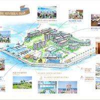 シーサイド リビエラ 場内MAP