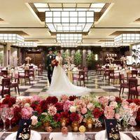 【ORIENTAL SUITE】着席100名 新しい切り口で「侘び・寂び」を表現するインテリアや日本の伝統美を継承するオブジェ。 コスモポリタンな視点で「日本美」を表現した会場。
