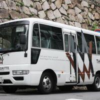 岡山県内無料送迎の25名乗りバス