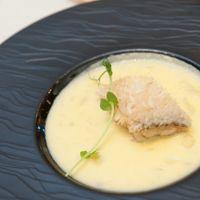 メニュー:ゆらり <魚料理> 甘鯛の若狭焼き ~ソースポムドテール~