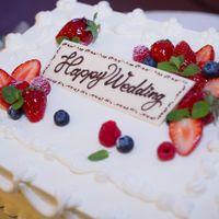 学士会館で1番人気のウエディングケーキ