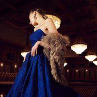 【新作ドレス】力強い紺色ドレス・・・見る者を魅了する・・・