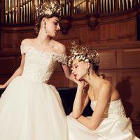 【新作ドレス】花嫁がいつの時代も憧れる普遍的ドレス・・・