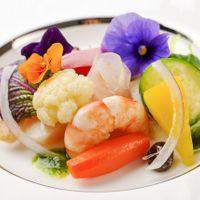海の幸と野菜のエテュベ 菜園風
