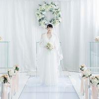 真っ白なチャペルは憧れの花嫁さまも多数♪