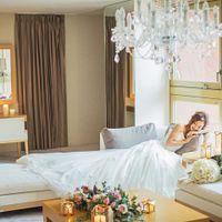結婚式当日の準備は広々としたブライズルームで行います。