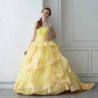 ベルのようなプリンセスドレス
