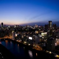 大阪市街の夜景