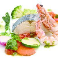 ゲストに人気の魚介料理
