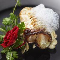 グジの西京焼き・クラリフェの雲・ブーケの伝説  和洋折衷料理もご用意!