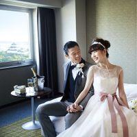和歌山城を一望できる宿泊部屋は遠方ゲストの方にも喜ばれています。